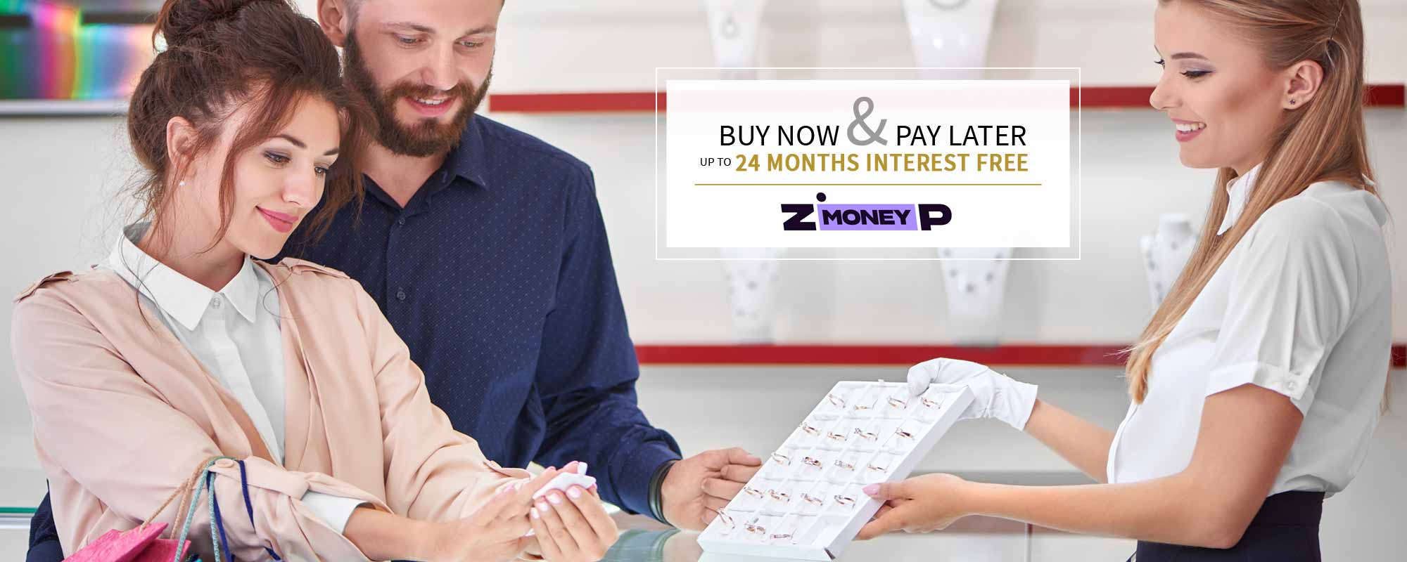 Zip Money finance Available At Mt Ommaney Showcase Jewellers